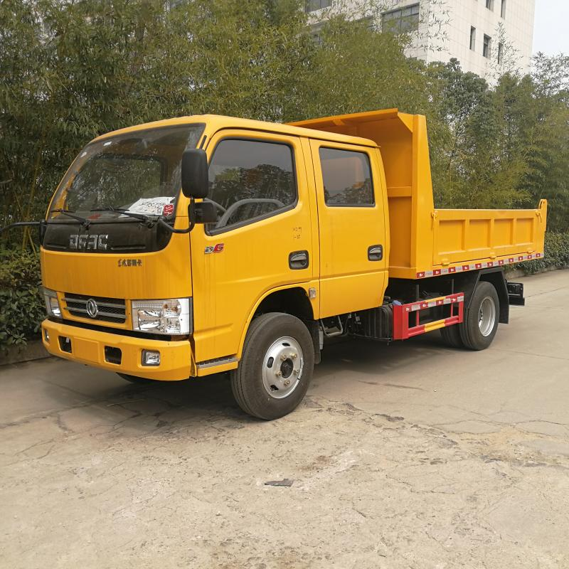 東風多利卡雙排座自車 公路養護車 工程自卸車