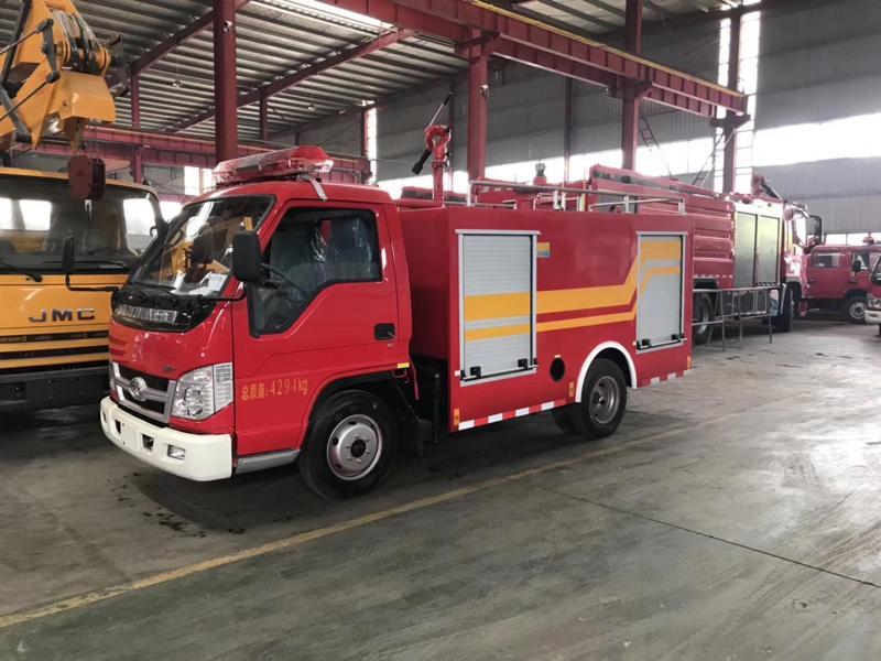 福田2吨救险车|福田消防车|福田消防洒水车