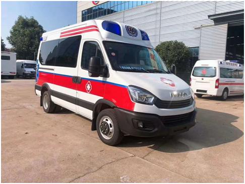 现车:国六欧胜依维柯救护车