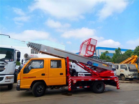 国六32米蓝牌云梯高空作业车