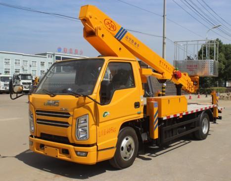 江铃17.5米蓝牌直臂式高空作业车
