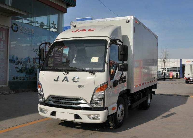 江淮J3蓝牌冷藏车