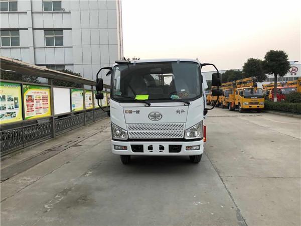 国六解放J6F蓝牌清障车